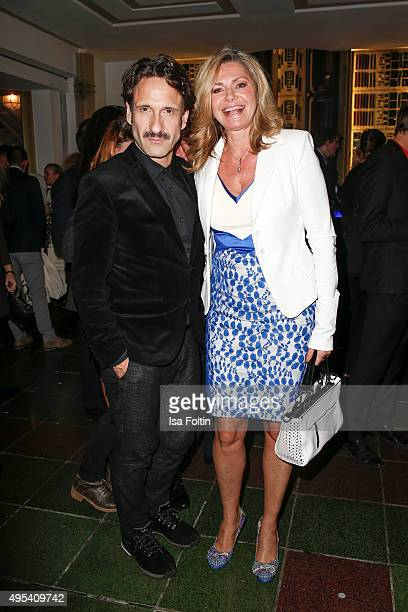 Falk-Willy Wild and Maren Gilzer attend the 1st Act Now Jugend Award at Friedrichstadt-Palast on November 2, 2015 in Berlin, Germany.