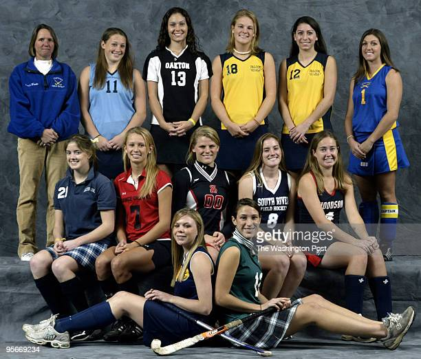 Fall AllMet teams Here FIELD HOCKEY Front Mercedes Tully BethesdaChevy Chase Carter Foote St Stephen's/St Agnes Middle Emily Tiernan HoltonArms Emily...