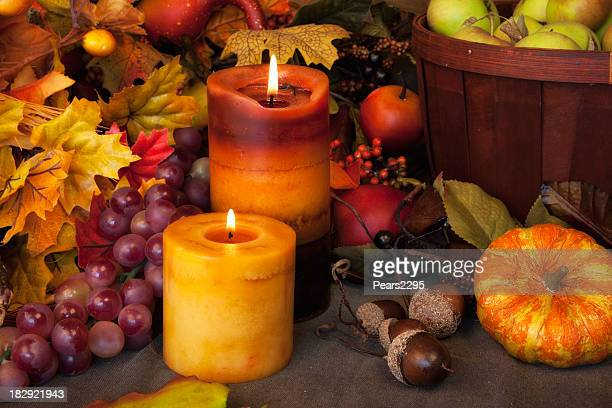 fall arrangement - thanksgiving wallpaper stock photos and pictures