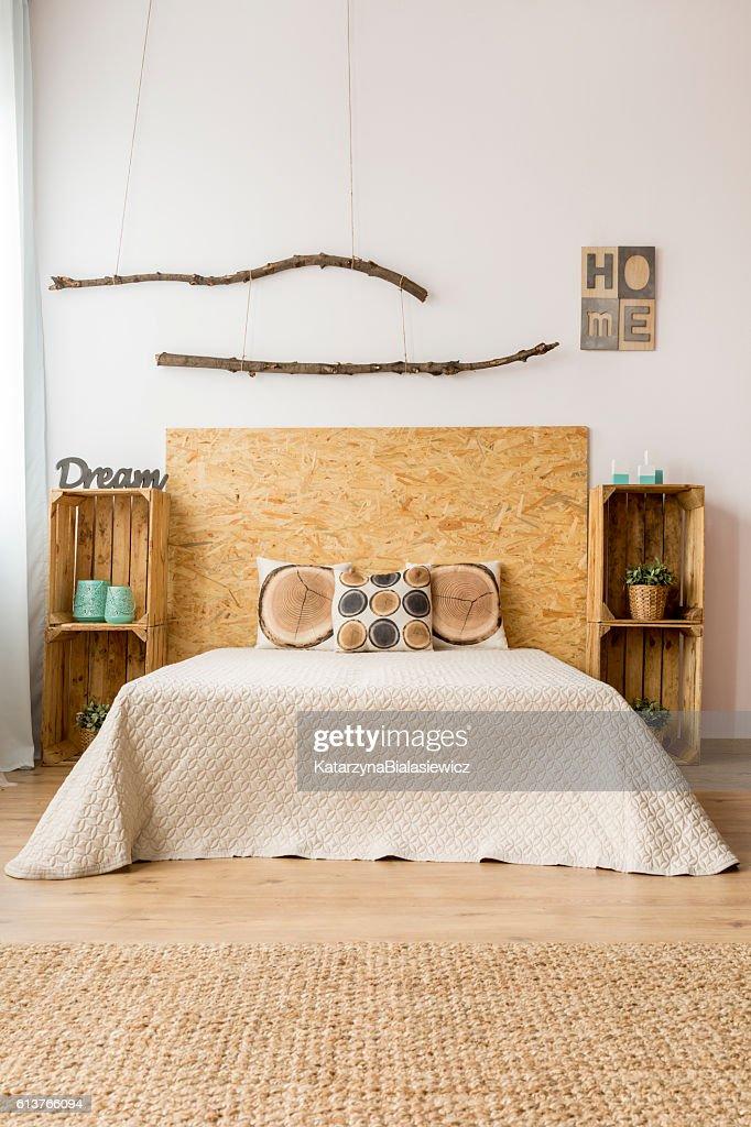 Fall Bedroom Decor Idea : Stock Photo