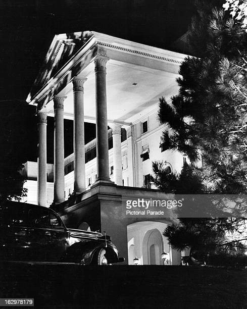 Fall celebration at The Greenbrier in White Sulphur Springs West Virginian 1955