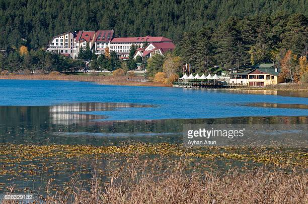 Fall colours at Lake Abant,Bolu,Turkey