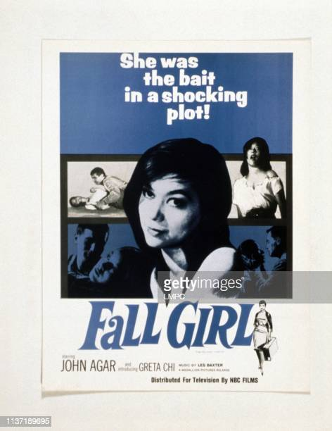 Fall Girl poster Greta Chi 1961