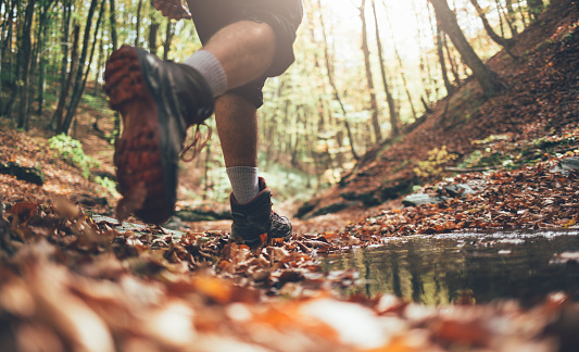 Fall hiking 1057811866