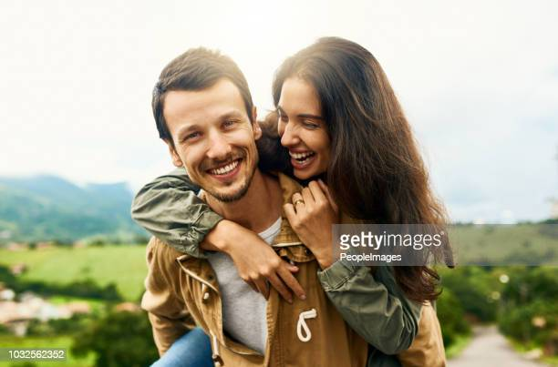 fall in love with the one who completes you - heterosexual couple stock pictures, royalty-free photos & images
