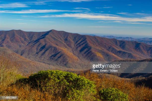 fall in the blue ridge mountains - emery stock photos and pictures