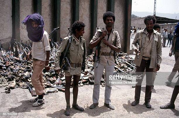 Fall of Addis Ababa Disarmament of the governmental army by the rebels On 1991 FDM2598