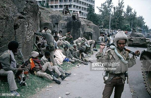 Fall of Addis Ababa Fighters of the FDRPE Revolutionary democratic Forehead of the Ethiopian people On 1991 FDM2601
