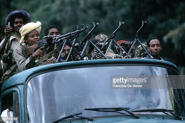 Fall of Addis Ababa Fighters of the FDRPE Revolutionary democratic Forehead of the Ethiopian people On 1991 FDM2652
