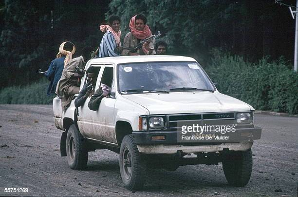 Fall of Addis Ababa Fighters of the FDRPE Revolutionary democratic Forehead of the Ethiopian people On 1991 FDM26615