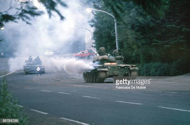 Fall of Addis Ababa Rebel on Russian tanks On 1991 FDM25816