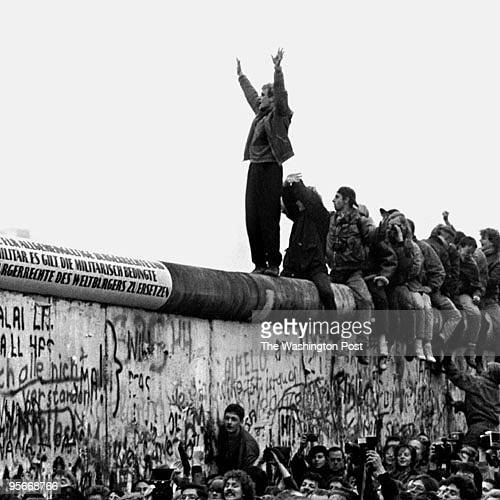 Fall of Berlin Wall 1989