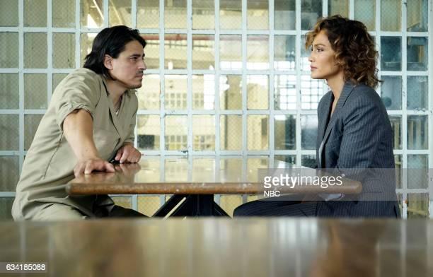BLUE 'Fall of Man' Episode 106 Pictured Antonio Jaramillo as Miguel Zepeda Jennifer Lopez as Det Harlee Santos