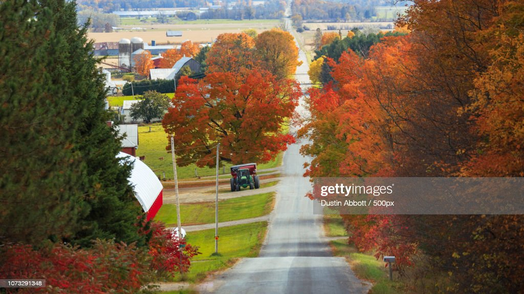 Fall on the Farm : Stock Photo