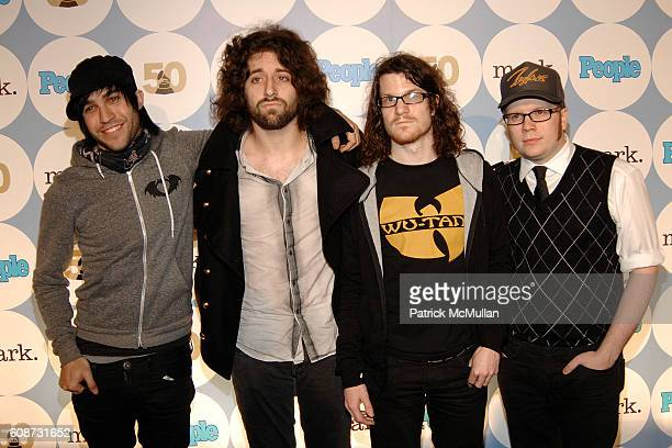 fall out boy band members ストックフォトと画像 getty images