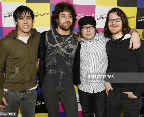 Fall Out Boy bassist Pete Wentz guitarist Joe Trohman singer Patrick Stump and drummer Andrew Hurley