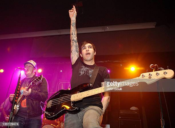 Fall Out Boy during Honda Introduces New Honda Civic Designed by Fall Out Boy at American Honda Motor Co Inc in Torrance California United States