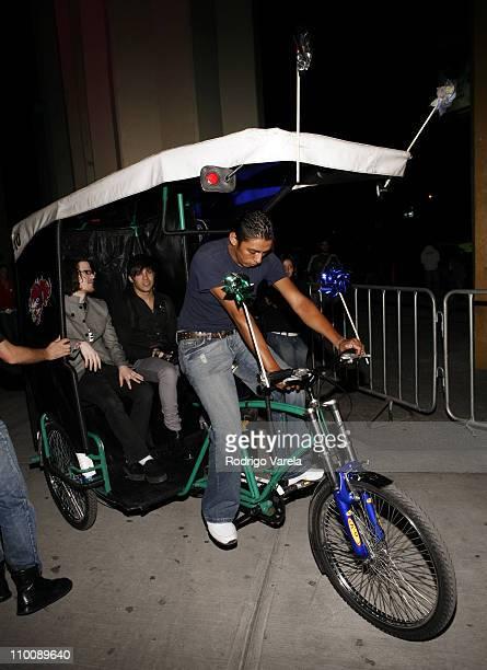 Fall Out Boy during MTV Video Music Awards Latin America 2006 - Red Carpet at Palacio de los Deportes in Mexico City, Mexico.