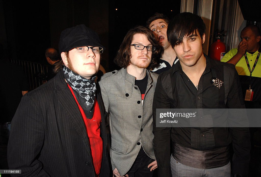 Fall Out Boy during MTV Video Music Awards Latin America 2006 - Red Carpet at Palacio de los Deportes in Mexico City, Mexico.