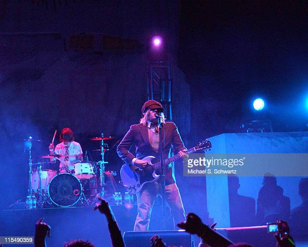 Fall Out Boy during Nintendo Fusion Tour October 27 2005 at The Wiltern Theater in Los Angeles California United States