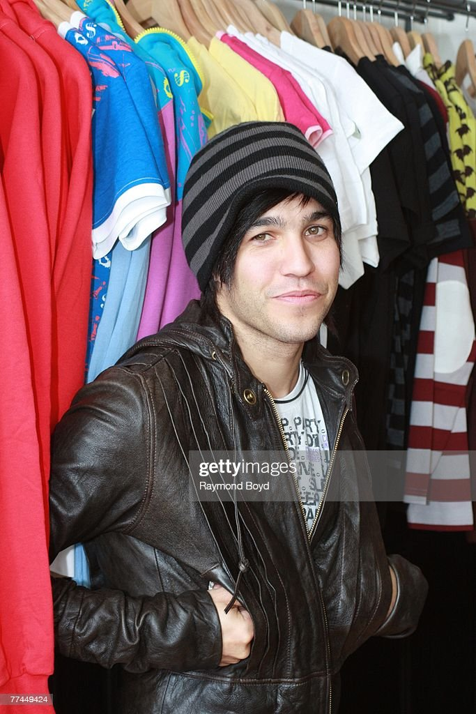 Fall Out Boy guitarist Pete Wentz opens retail store, Clandestine Industries on October 20, 2007 in Chicago, Illinois.
