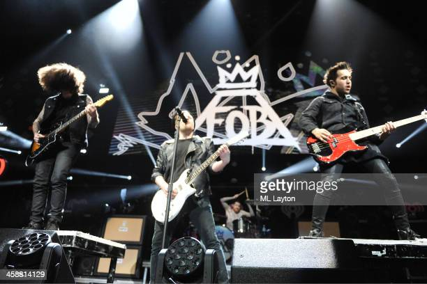 Fall Out Boys performs at Hot 995's Jingle Ball 2013 at Verizon Center on December 16 2013 in Washington DC
