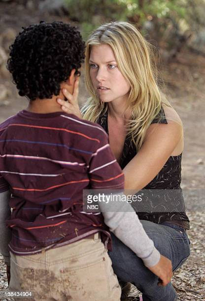 HEROES 'Fall Out' Episode 11 Aired 12/4/06 Pictured Noah GrayCabey as Micah Sanders Ali Larter as Niki Sanders/Jessica Sanders
