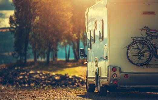 Fall RV Camper Camping 1170990224