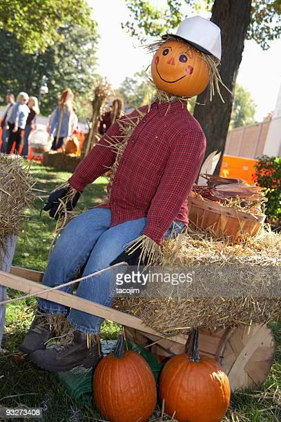 秋の Scarecrows