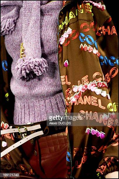 Fall Winter 2001/2002 Ready To Wear Fashion Show Chanel On March 15Th 2001 In Paris France