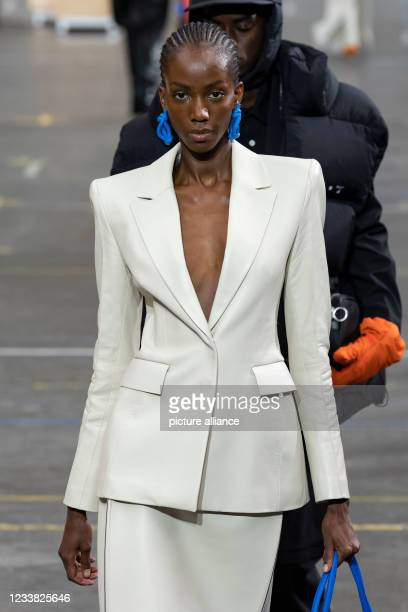 Fall Winter 2021 collection runway on July 2021 - Paris, France.