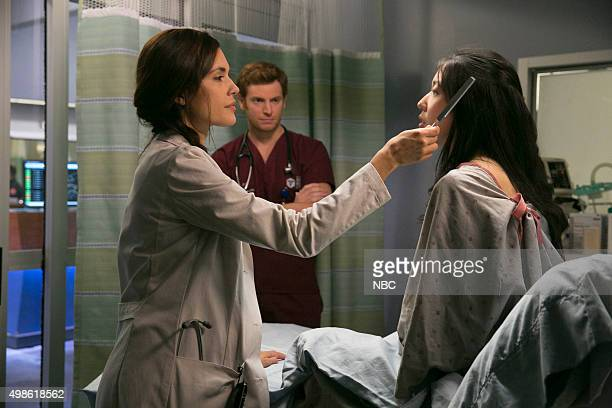 MED 'Fallback' Episode 103 Pictured Torry DeVitto as Dr Natalie Manning Nick Gehlfuss as Dr Will Halstead Stephenie Park as Dylan