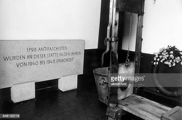 Fallbeil in der Gedenkstätte im ehemaligen Zuchthaus Görden 1994