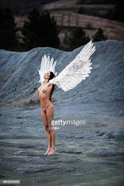 fallen angel - engel stockfoto's en -beelden