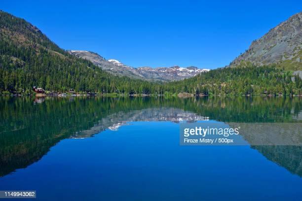 fallen leaf lake - サウスレイクタホ ストックフォトと画像