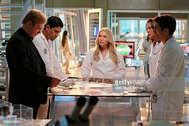 Fallen The team examines the evidence after they lose one of their own and a psychotic genius runs wild in Miami on the ninth season premiere of CSI...