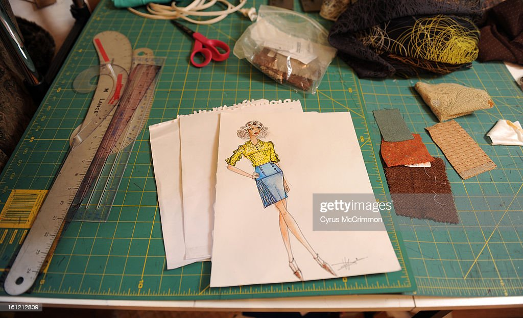 Fallene Wells At Her Home Fashion Design Studio On Wednesday January News Photo Getty Images