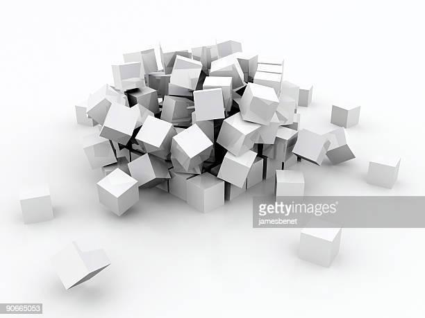 Falling Blocks (3D)