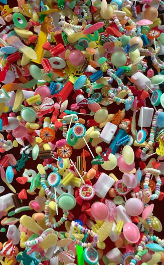 falling Candy - gettyimageskorea