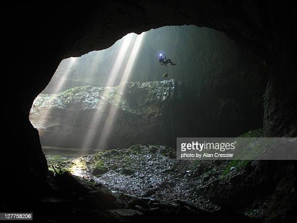 falling cave - cave stock pictures, royalty-free photos & images