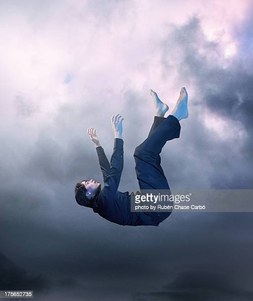 falling down - falling stock pictures, royalty-free photos & images