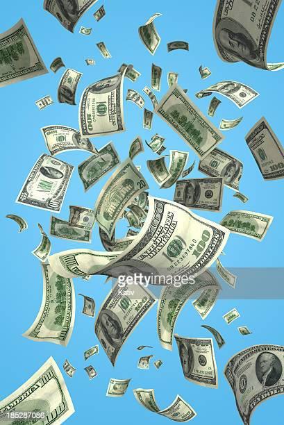 Falling Money Bills (XXXL)