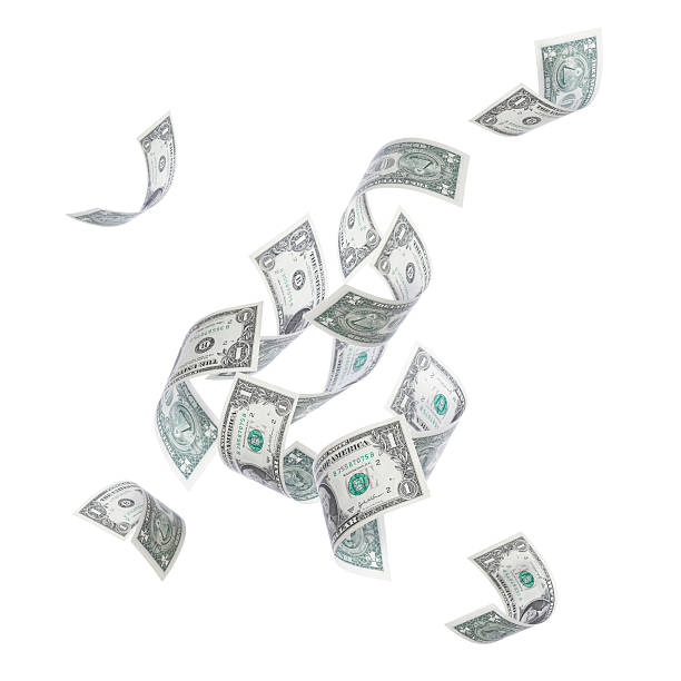 Falling Money Wall Art