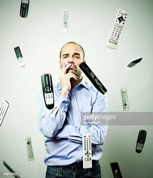 Chute télécommandes
