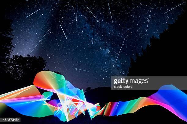 Fallenden stars