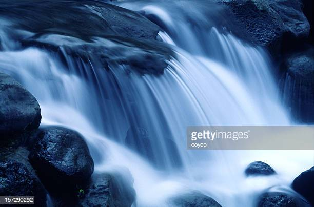 falling water - flowing stock pictures, royalty-free photos & images