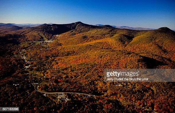 Falll foliage Killington Vermont