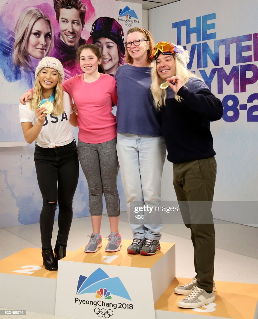 "NBC's ""Tonight Show Starring Jimmy Fallon"" with guest Chloe Kim"