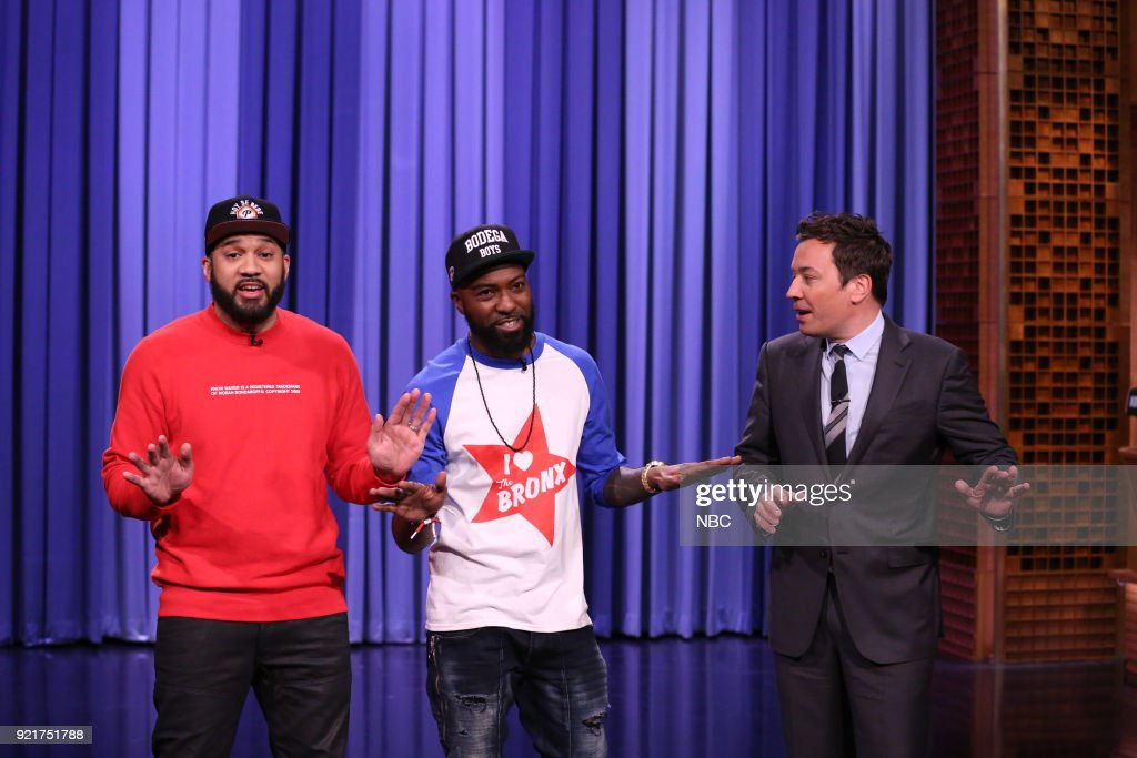 "NBC's ""Tonight Show Starring Jimmy Fallon"" with guests Desus & Mero"