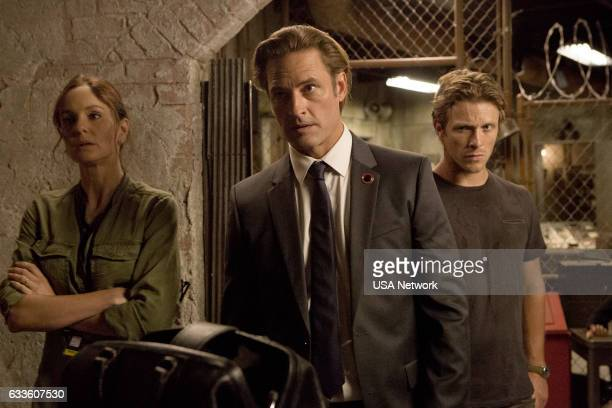 COLONY Fallout Episode 206 Pictured Sarah Wayne Callies as Katie Bowman Josh Holloway as Will Bowman Charlie Bewley as Eckhart